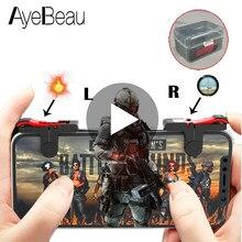 Accesorios de juego para Pubg, mando para teléfono móvil, iPhone, Android, L1, R1