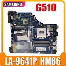 SAMXINNO VIWGQ / GS LA-9641P материнская плата для ноутбука Lenovo G510 оригинальная материнская плата HM86 PGA947