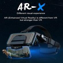 FIIT AR-X Виртуальная реальность 3D AR Очки виртуальной реальности VR очки для 4,7-6,0 дюймовых смартфонов, чувствовать себя iImmersive