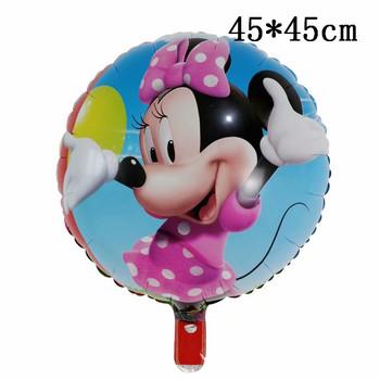 Giant Mickey Minnie Mouse Balloons Disney cartoon Foil Balloon Baby Shower Birthday Party Decorations Kids Classic Toys Gifts 31