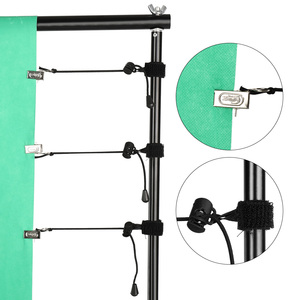 Image 5 - 8Pcs/lot Photography Studio Background Support Muslin Holders Clips for Green Screen Backdrop Clamps Stand