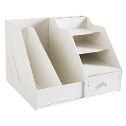 Organizador de libros, organizador de revistas organizador de escritorio soporte de libros escritorio almacenamiento soporte de organizador estante
