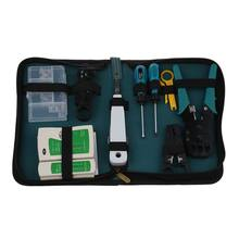 11 in 1 Professional Network Computer Maintenance Repair Tool Kit Toolbox(China)