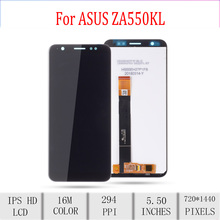 Original For ASUS Zenfone Live L1 ZA550KL X00RD LCD Display Touch Screen Digitizer Assembly For Asus ZA550KL Display with Frame цена и фото