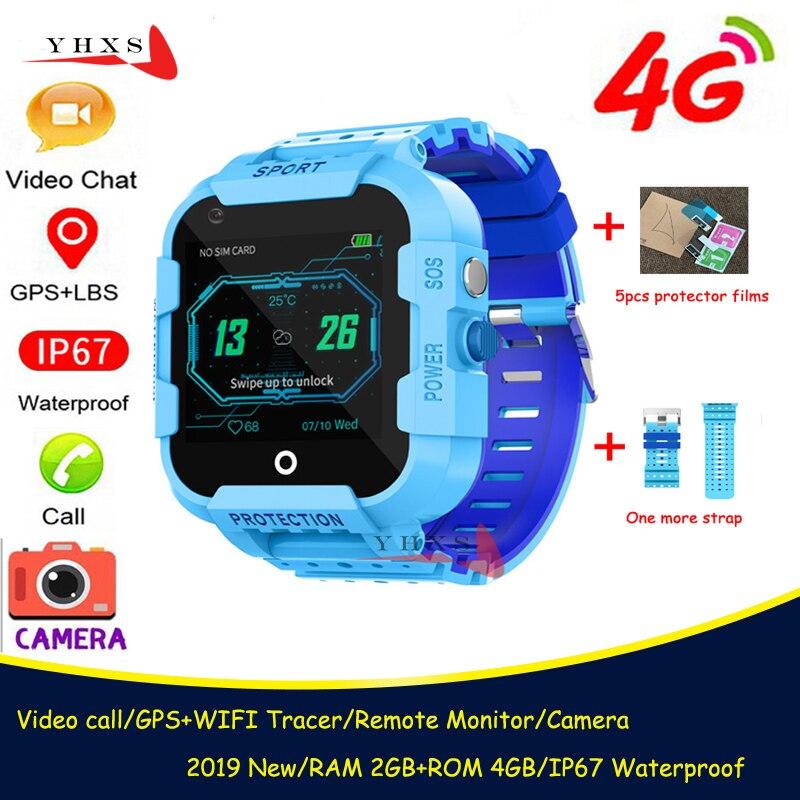 IP67 防水スマート 4 グラムリモートカメラgpsのwi fi子供子供学生腕時計sosビデオ通話モニタートラッカー腕時計|スマートウォッチ| - AliExpress