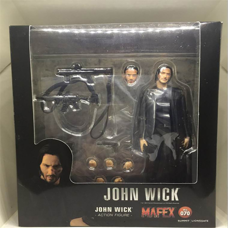 085 John Wick Chapter 2 PVC Action Figure In Box Decorate 16CM Medicom Mafex No