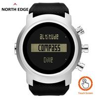 2019 New Men Watch Waterproof 100m Smart Digital Military Watch 50M Dive Swimming Sport Watch Altimeter Barometer Compass Clock
