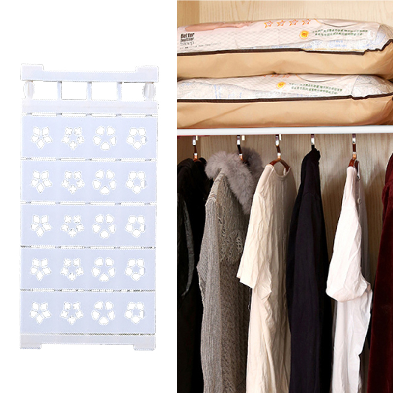 New Adjustable Closet Organizer Storage Shelf Wall Mounted Kitchen Rack Space Save Wardrobe Decorative Shelves Cabinet Holders