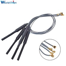 Wi-Fi антенна Ufl, 2,4 ГГц, разъем IPEX, 3 дБи, коэффициент усиления, латунный материал, длина 23 см, кабель 1,13 для подключения к Wi-Fi-модулю для HLK-RM04, мод...