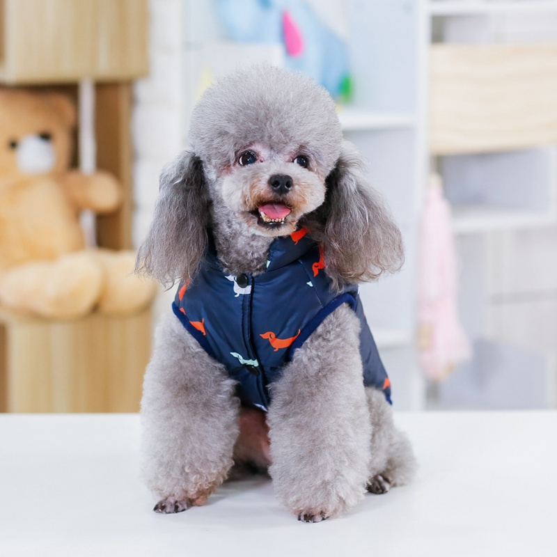 Waterproof Dog Jacket Made with Polyester Cotton and Fleece Material for Autumn and Winter 7