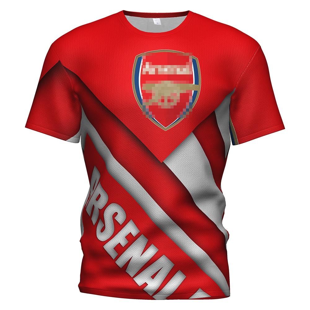 Arsenal Fc Soccer Jersey Football 2017 2018 2019 3d T Shirt Kit Arsenal Tracksuit Kids T-shirt Training Arsenal London Clothing
