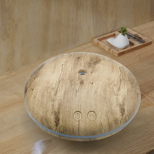 Image 5 - PIVOKA 400ml AROMA Essential Oil Diffuser Air Humidifier ไม้ GRAIN LED ไฟ Aromaterapia สำหรับบ้าน