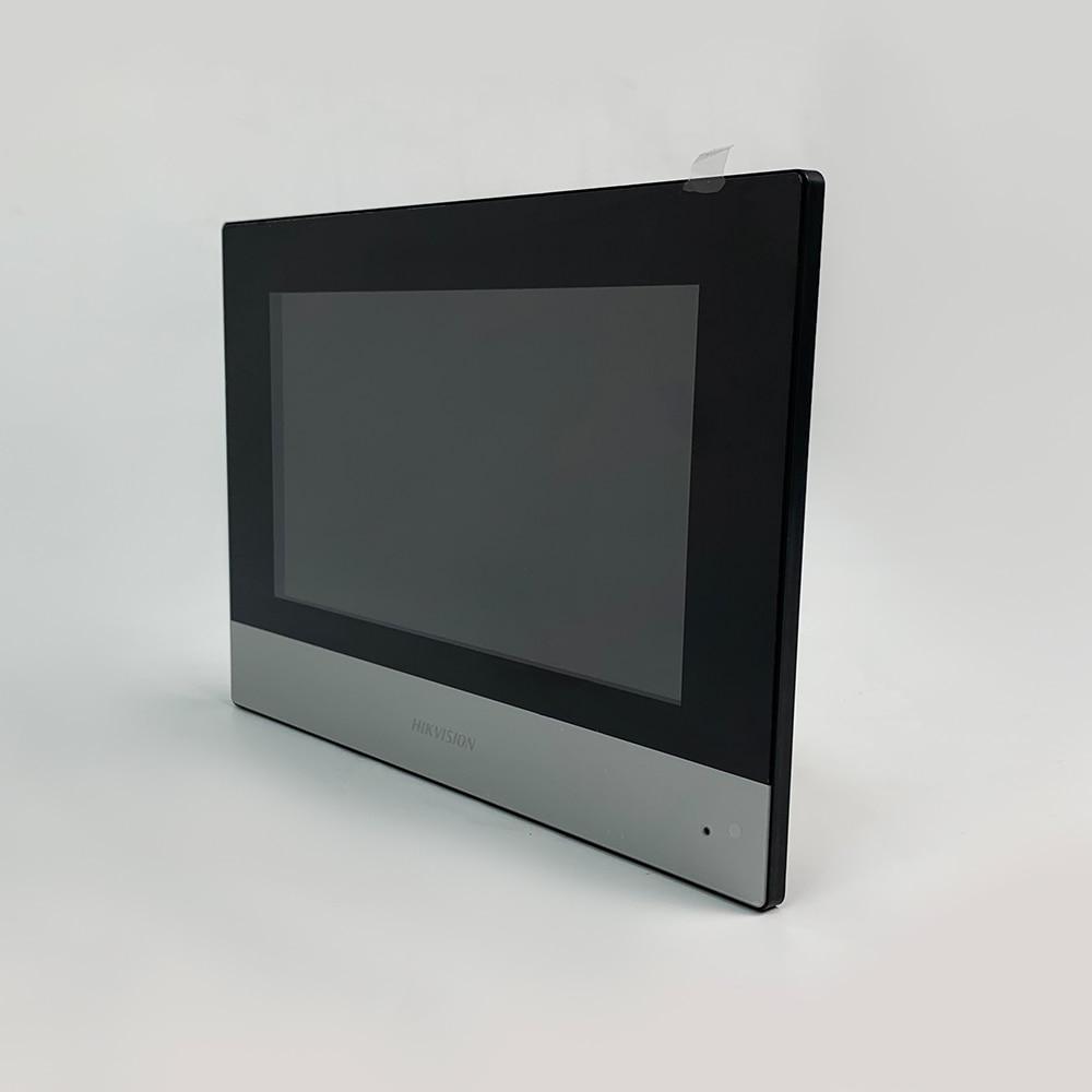 D'origine DS-KH6320-WTE1 7 pouces wifi Moniteur D'intérieur POE, interphone Vidéo sans fil Intégré haut-parleur et micro 5