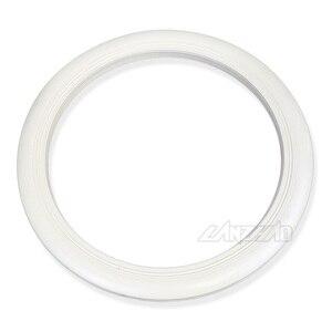 "Image 2 - 4 pçs/set 12 ""branco retro borracha roda hub lado adesivo, anel para piagem vespa gts gtv sprint primavera scooter 12 polegadas 150"