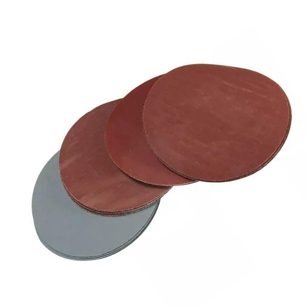Купить с кэшбэком 20pcs 5 Inch Sanding Discs 1000 1500 2000 3000 Grit Polishing Sand Paper For Power Tools