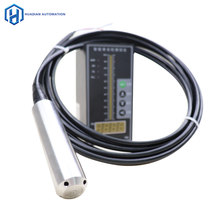 tank water level transmitter 75m cable accuracy 0.1% 4~20mA Output Automatic Water Level Indicator free shipping to Russian