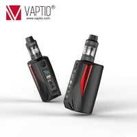 Cigarette électronique Vape Vaptio 200w boîte Mod N1 Pro lite KIT 2.0ML équipé externe 18650 batteries 0.1-5.0ohm résistance vapeur