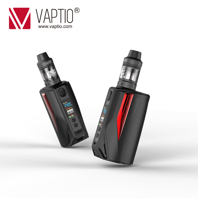 Elektronische Zigarette Vape Vaptio 200w Box Mod N1 Pro lite KIT 2,0 ML ausgestattet Externe 18650 batterien 0,1- 5.0ohm widerstand Dampf