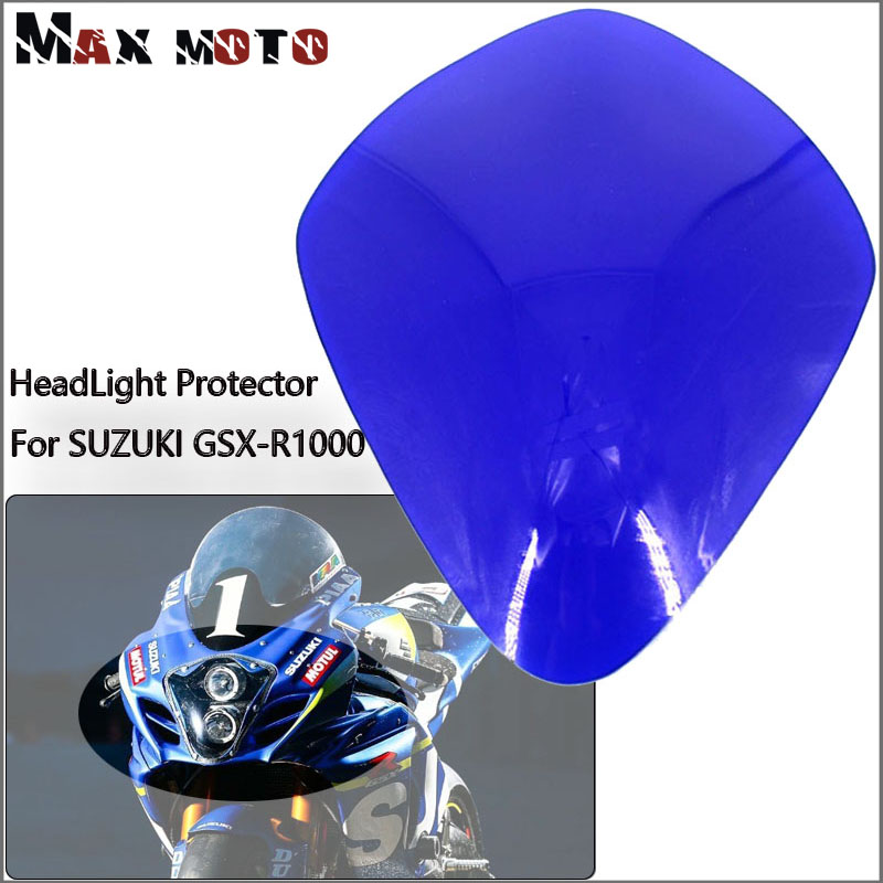 For <font><b>SUZUKI</b></font> GSX-R1000 <font><b>GSXR1000</b></font> GSXR 1000 2007 2008 <font><b>K7</b></font> Motorcycle Accessories headlight Guard Head light Lens Cover protector image