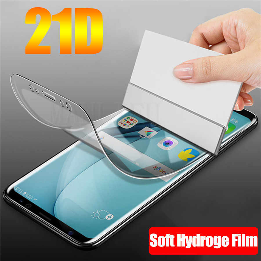 21D Front Silicone Soft TPU Hydrogel Sticker Film For Motorola Moto One Vision Z2 Z3 Z4 Play G7 G6 G5s E6 Plus Screen Protector