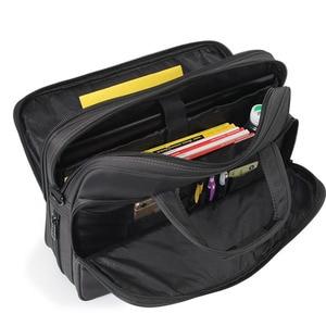 Image 5 - Business Briefcase Laptop Bag Oxford Cloth Waterproof Handbags men Casual Portfolios Man Travel Shoulder Bags For Men