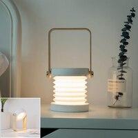 BRELONG Lantern Night Light Table USB charging Lamp Led Light Small Portable Lantern For Bedroom reading light Multifunction