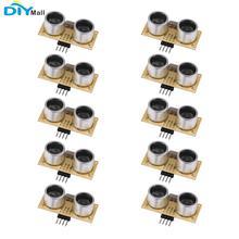цена на 10pcs US-026 Ultrasonic Module Distance Sensor for Servo Arduino Smart Car Robotics Projects Replace HC-SR04