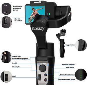 Image 5 - Hohem iSteady פרו 3 3 ציר Gimbal מייצב עבור GoPro 8 פעולה מצלמה כף יד Gimbal לgopro Hero 8,7,6,5,4,3, אוסמו פעולה