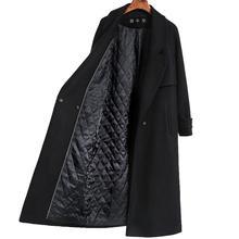 Осень-зима, новинка, Женский Повседневный Тренч из смеси шерсти, длинное пальто с поясом, Женское шерстяное пальто из кашемира, верхняя одежда