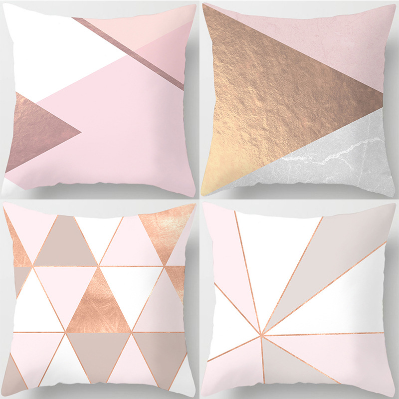 Free Shipping 4 PCS /Lot Hot Selling Home Decoration Supplies Combination Of Series Pillow Cover Pillow Car Pillow Cushion Cover