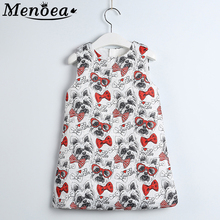 2015 Girls Dress Winter Kids Clothes Children Clothing Brand Cartoon Toddler Baby Autumn Spring Dress for Princess Party