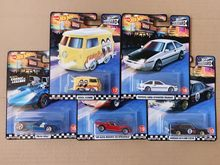 Hot Wheels 1/64 GJT68 Tuin Avenue 4 Alfa Romeo & Kool Kombi & Twin Molen & Toyota AE86 & Nissan skyline C200 Collection Car