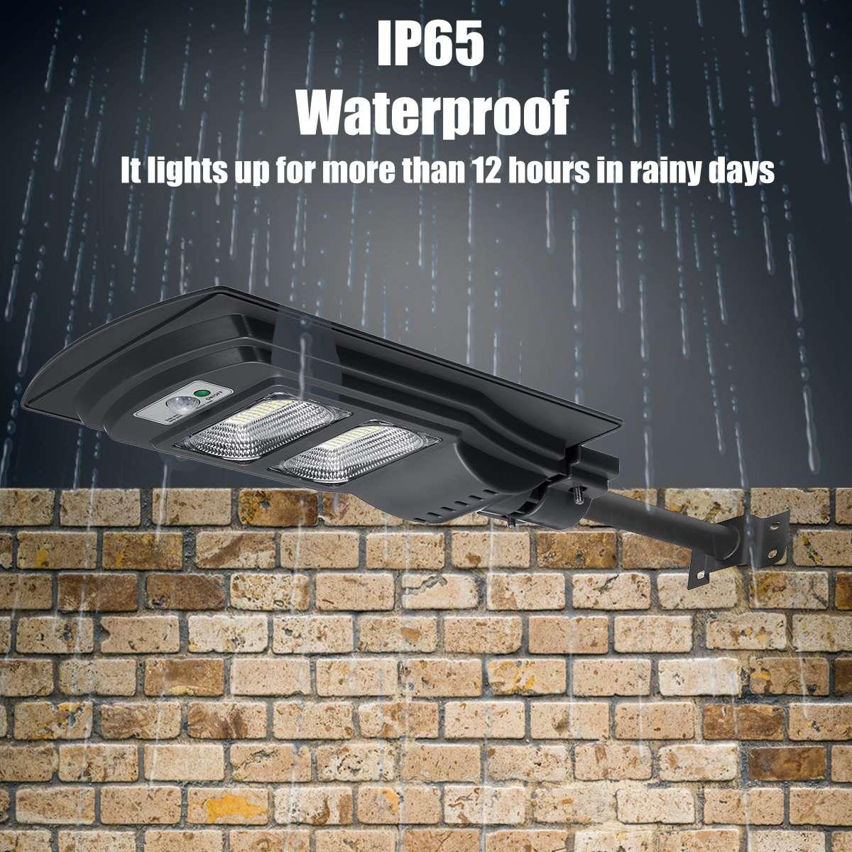 360 W/240 W/120 W LED motion Schwarz IP65 Solar Straße Licht Ständig Wasserdicht Induktion Solar Sensor fernbedienung