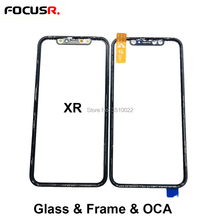 3in1 Glass Cold Press LCD Front Screen Outer Glass Cover Wit