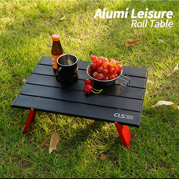 Aluminum Outdoor Mini Folding Table Camping Tent Portable Coffee Household Plate Furniture - discount item  51% OFF Outdoor Furniture