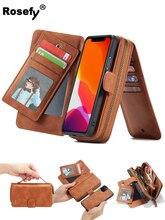 чехол для для мобильных телефонов oem iphone 6 4 7 6 g 6 5 5 5 5s 5 c 4 4s samsung s5 i9600 s4 i9500 3 2 case for iphone4g 5g 6 6 plus samsung galaxy s5 s4 note3 note2 Zipper Removable Wallet Magnetic Bag Leather Case For iPhone 7 6 6S Plus Samsung Galaxy S8 Plus S7 Edge Note 4/5 S4 S5 S6