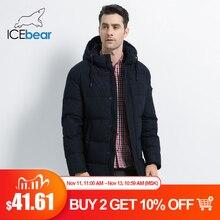Icebear 2019 novo inverno jaqueta masculina de alta qualidade casaco grosso quente masculino algodão roupas marca homem vestuário mwd17933i