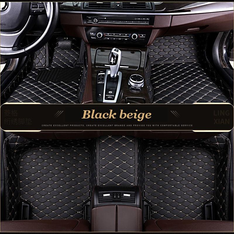 Özel araba paspasları Mercedes Benz için tüm modelleri E C SLK G GLS GLC GLA GLE GL CLA ML GLK CLS S R A B CLK vito viano araba paspasları