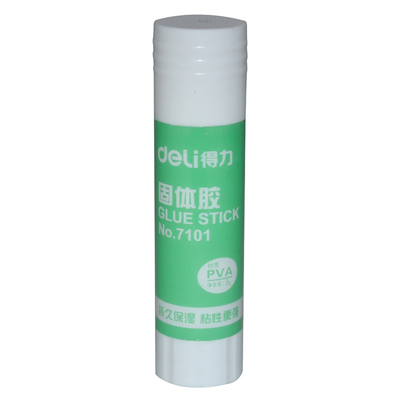 Deli Solid Glue 7101 Deli Solid Glue Stick 9 Grams Deli Glue Stick 9G Solid Glue