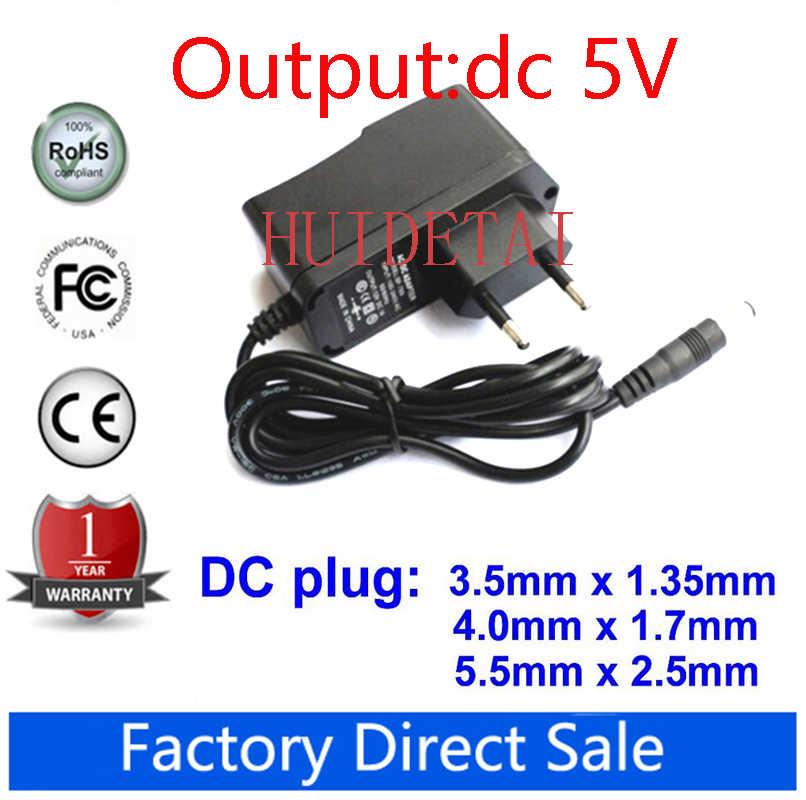 AC110-240V DC 4.5V 5V 6V 9V 12V 1A 500 mA taśma Universa adapter AC/konwerter DC zasilacz 5.5x2.5mm 4.0x1.7mm 3.5x1.35mm