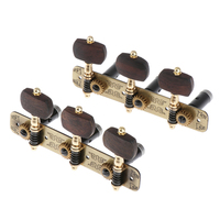 Connected Guitar Tuners, Tuning Key Pegs Machine Heads for Acoustic Folk Classical Guitars