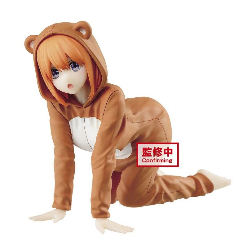 Pre Verkauf Bandai Nakano Yotsuba Anime Figur Pvc Modelle Die Quintessenz Quintuplets Anime Peripherie Modelle Figural Serie Spielzeug
