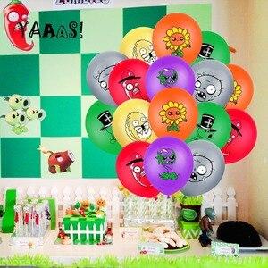 32 шт./компл. Col-вечерние с изображением героев «Plants VS Zombies Растения против Зомби воздушные шары с торт фигурки жениха и невесты; Баннер с днем рождения Baby Shower украшения, товары для вечеринки