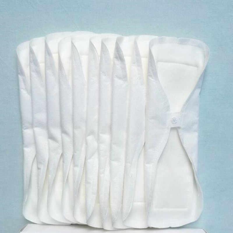 5 Teile/los 240mm Dünne Reusable Tuch Waschbar Menstruations Pad Mama Sanitär Handtuch Pad vagina Menstruations sauber Serviette Pad Wasserdicht