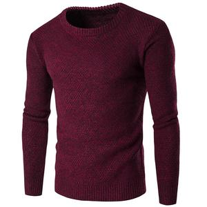 New Men Sweaters Coat Slim Fit Jumpers Knit Warm Winter Man Sweater Clothes(China)