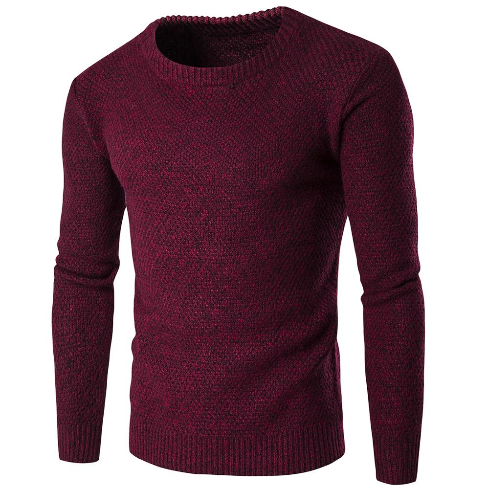 New Men Sweaters Coat Slim Fit Jumpers Knit Warm Winter Man Sweater Clothes