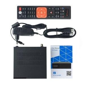 Image 3 - Receptor satélite super hd 1080p do receptor gtmedia v9 com 1 ano europa 7 linhas construído em wifi h.265 DVB S2 caixa europa tv