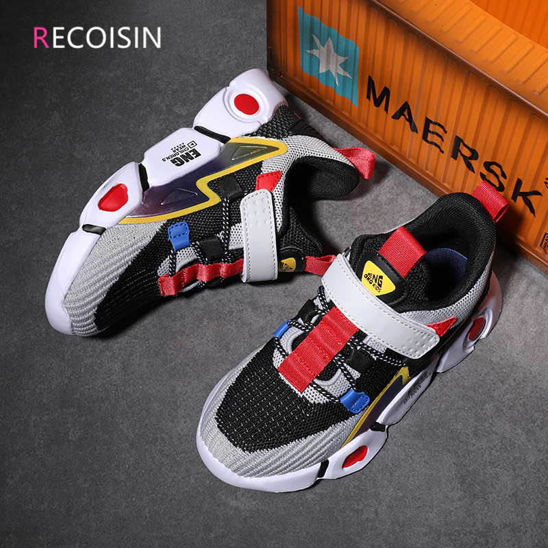 RECOISIN Spring Brand Kids sneakers Girls shoes Boys Casual Children Shoes for Girl Sport Running Child Shoes Chaussure Enfant|Sneakers|   - AliExpress