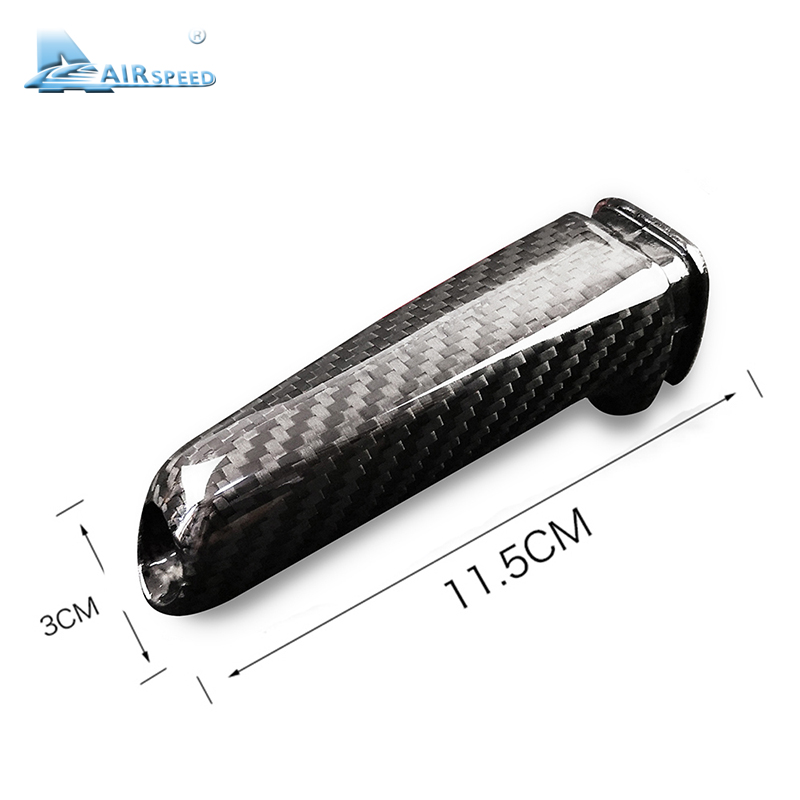Image 5 - Carbon Fiber Universal Car Handbrake Grips Cover Interior for BMW 1 2 3 4 Series E46 E90 E92 E60 E39 F30 F34 F10 F20 Accessories-in Interior Mouldings from Automobiles & Motorcycles