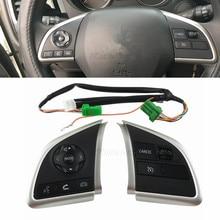 Interruptor automotivo para mitsubishi outlander 2013 2014, 2015, mirage 2014, 2015, controle de rádio, controle de pegada, volante